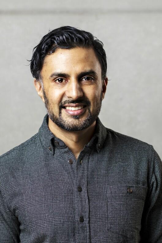 Wasim Zahid, lege og forfatter.