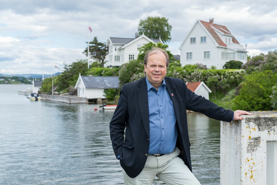 Trond Ellingsen, styreleder i Document.