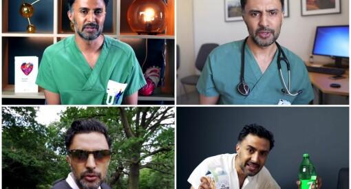 Lege Wasim Zahid gjør suksess med nytt show i sosiale medier: – Jeg tror på YouTube