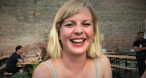 Kaja Storrøsten (29) er fast ansatt som reporter i Dagbladet Pluss
