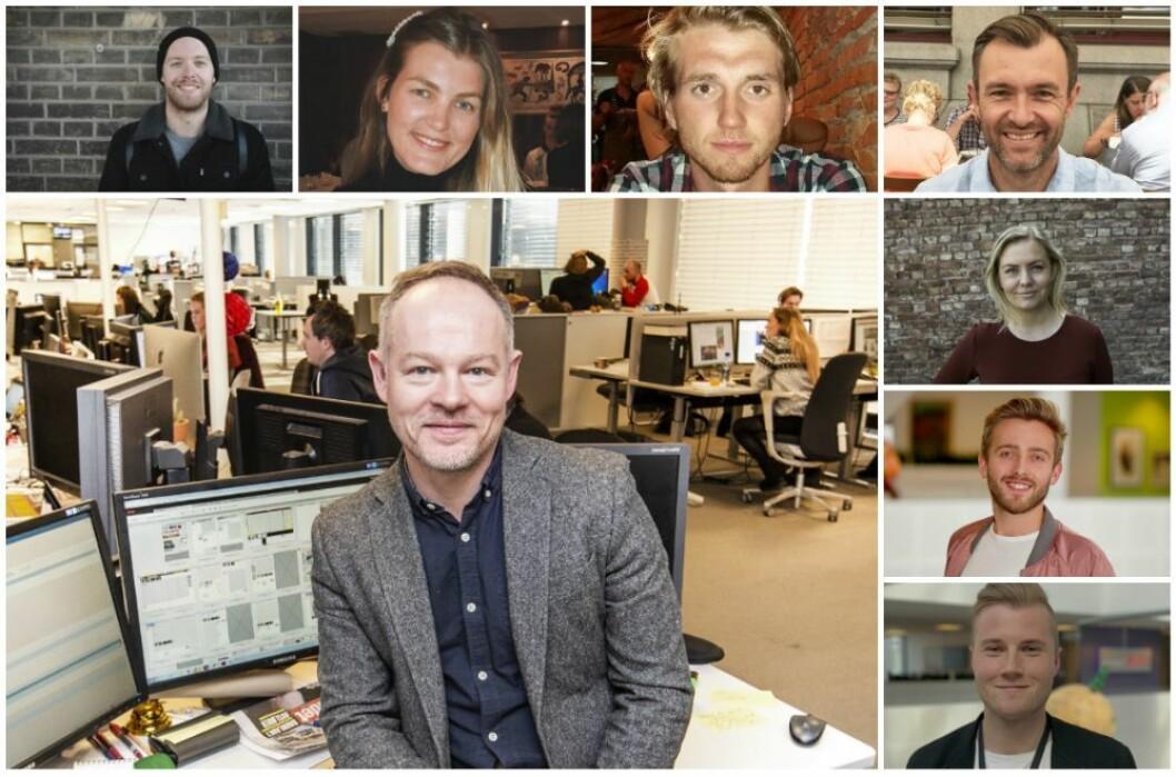 Bjørn Carlsen, redaksjonssjef i Dagbladet TV fotografert i redaksjonen
