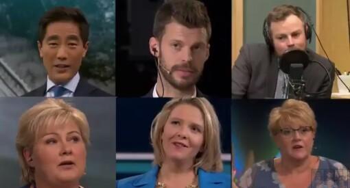 Sjå NRK sin valkamp-promo med politikarar som «ehm-ar» 80-talshiten «The Final Countdown»