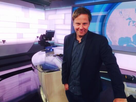 Aksel Helgheim i NRK.