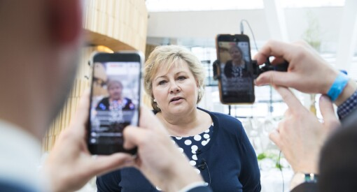 Berre éin av ti stolar på politikarane sine kampanjar og løfter i sosiale medium
