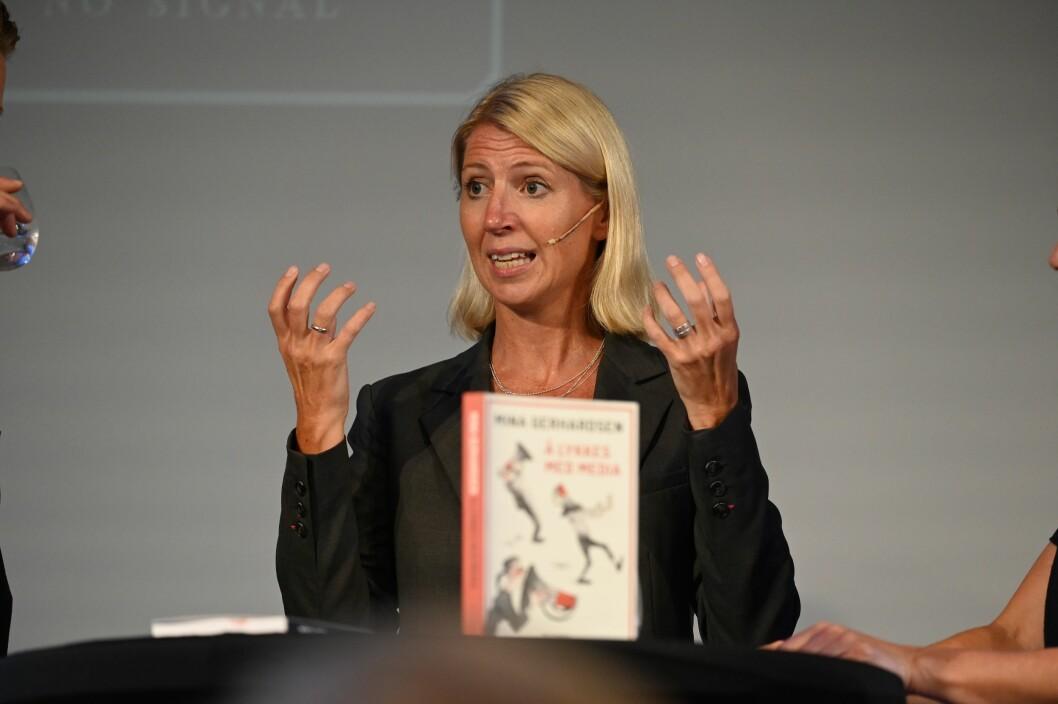 Mina Gerhardsen holdt foredraget