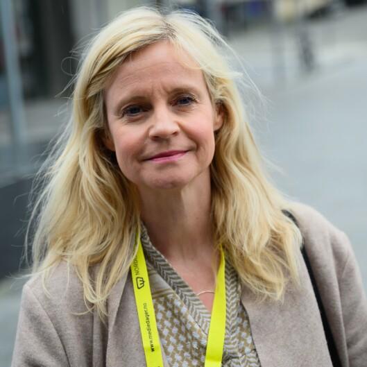 Nyhetsredaktør Karianne Solbrække i TV2. Foto