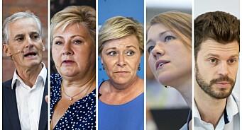 Disse partiene har fått mest medieomtale så langt i 2019: – Litt overraskende