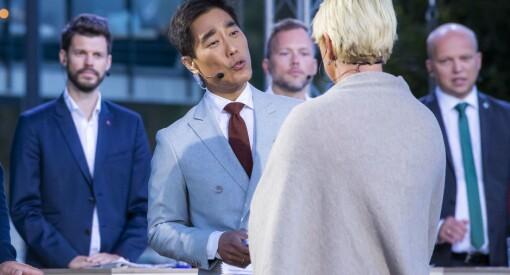 Publikum sviktet NRKs partilederdebatt på TV: Hver fjerde seer er borte