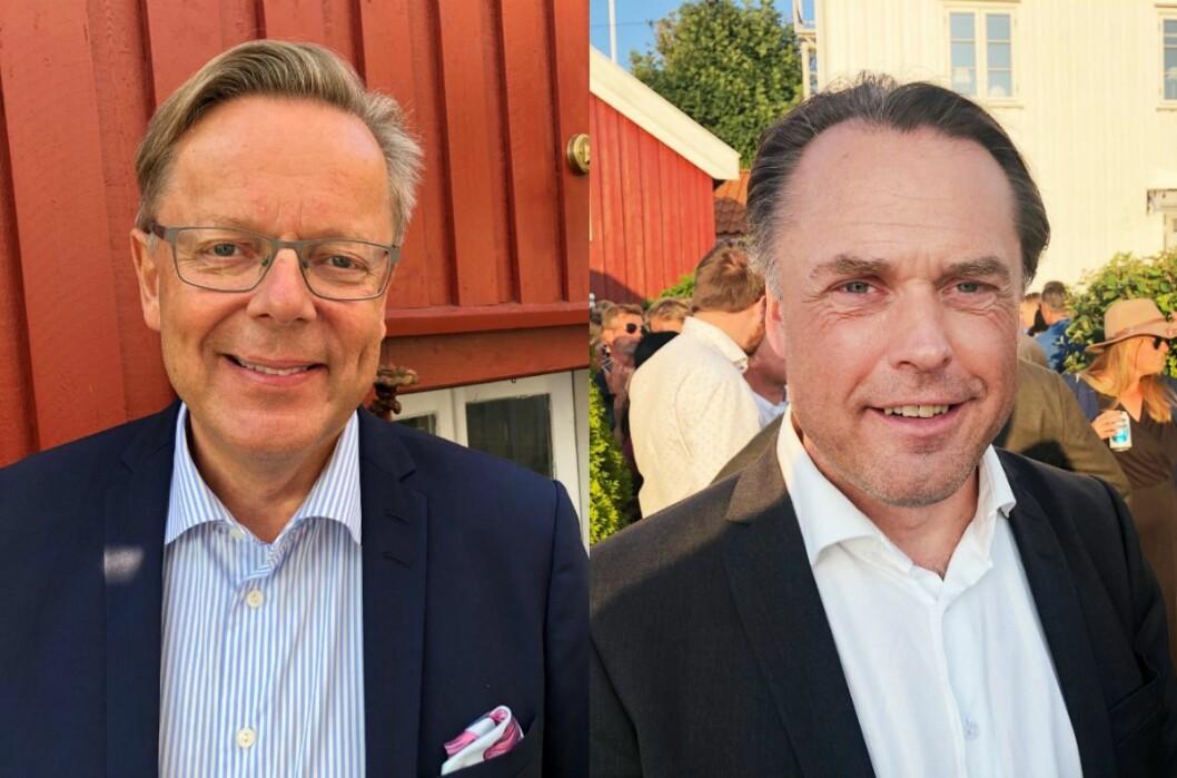TV 2-veteran Arill Riise og politisk reporter Kjetil Løset er veldig fornøyd med at TV 2 gjenoppretter politisk avdeling.