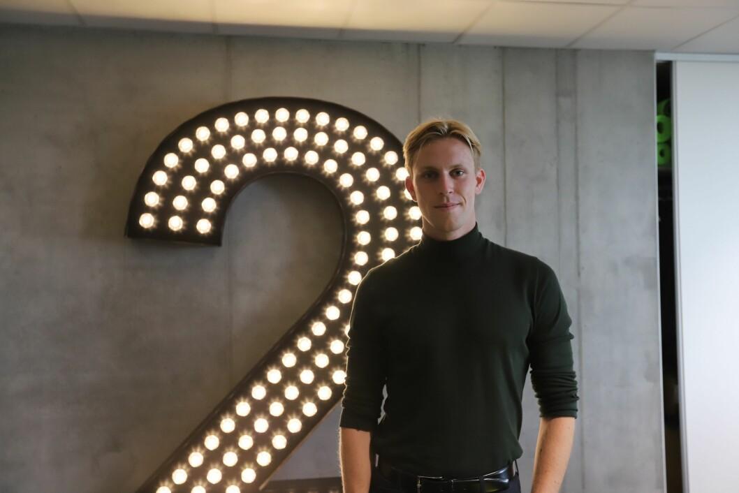 TV 2-reporter Magnus Braaten.