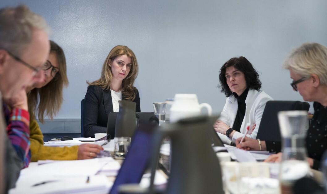 Arkivfoto: Fra tidligere PFU-møte.