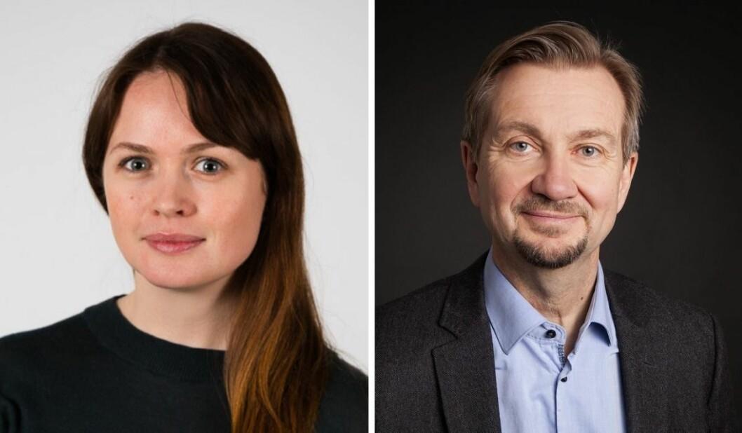 Kathleen Buer og Trygve Aas Olsen.