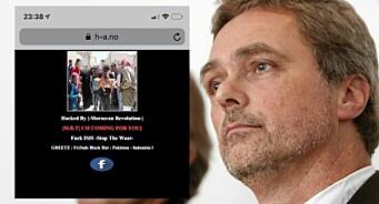 Hamar Arbeiderblad ble hacket: – Vi vet ingenting om hvem som står bak