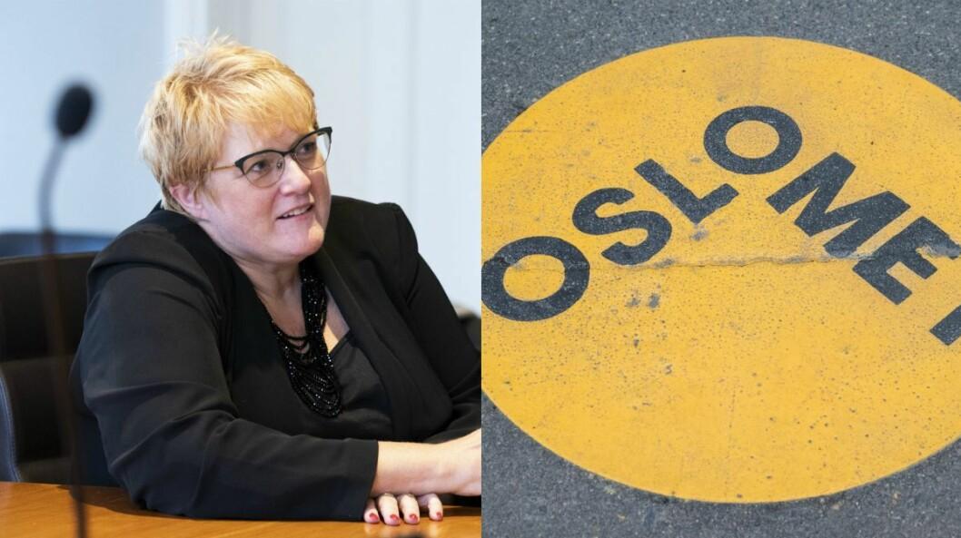 Kulturministeren vil i framtiden forby navn som Norec, Norad, Nkom og OsloMet