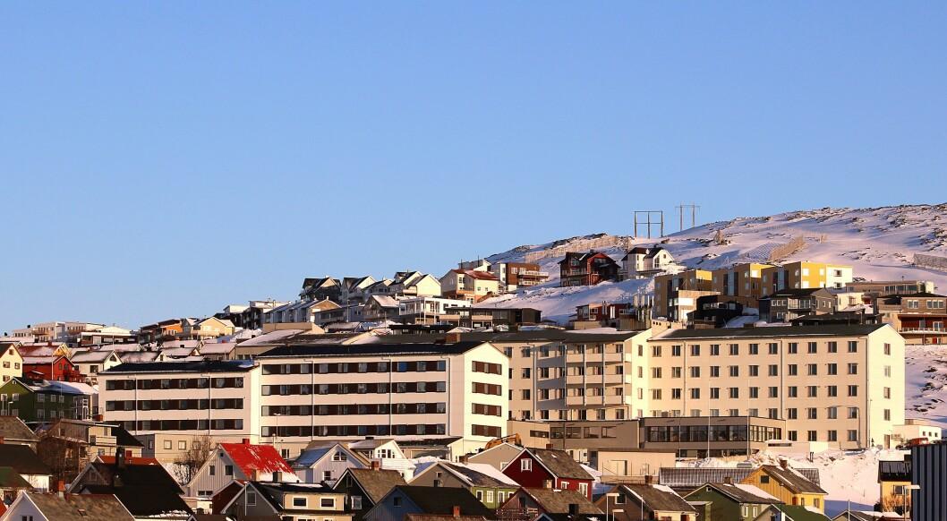 Finnmarkssykehuset kontorsted i Hammerfest