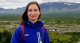 Vilde Grimelid Oppedal (34) er ny journalist i Porten.no
