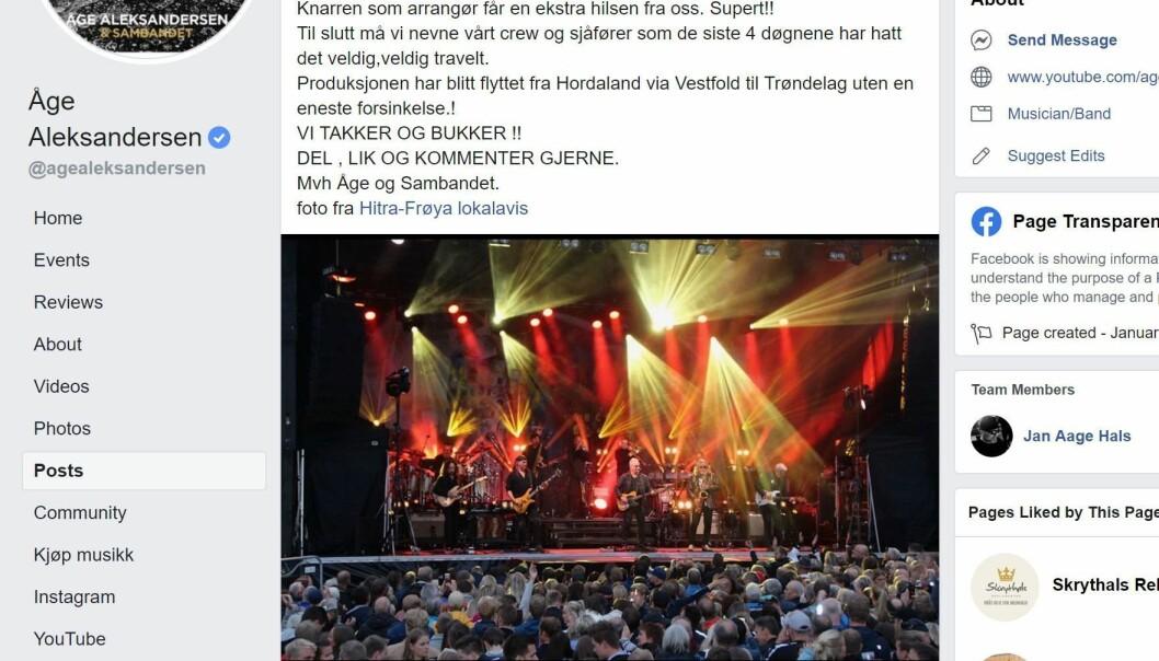Faksimile fra Hitra-Frøya.