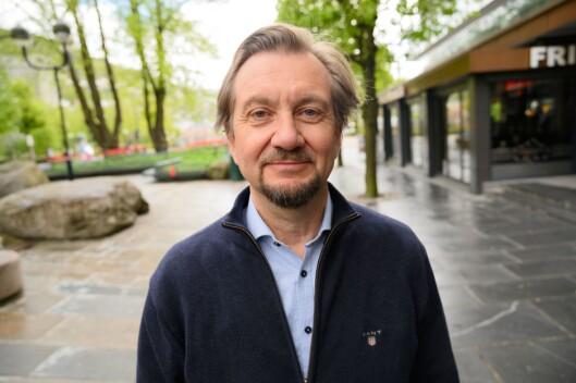Fagmedarbeidar ved Institutt for Journalistikk (IJ) og mediekritisk spaltist i Medier24, Trygve Aas Olsen.