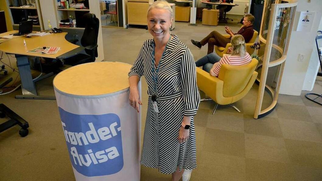Britt Anniken Holberg Holstad (39) er ansatt som ny markedssjef i Trønder-Avisa