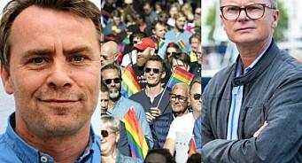 Fotball-leiar «grilla» for klubbens Pride-deltaking. Det likte han dårleg