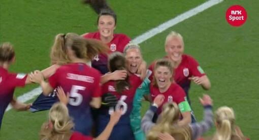 NRK har kjøpt rettighetene til fotball-EM for kvinner i 2021