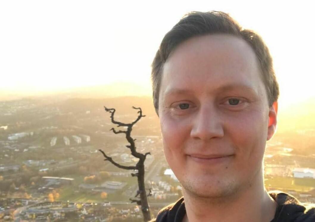 Glenn Røsåsen har ambisjonene på plass for jobben i Eidsvoll Ullensaker Blad.