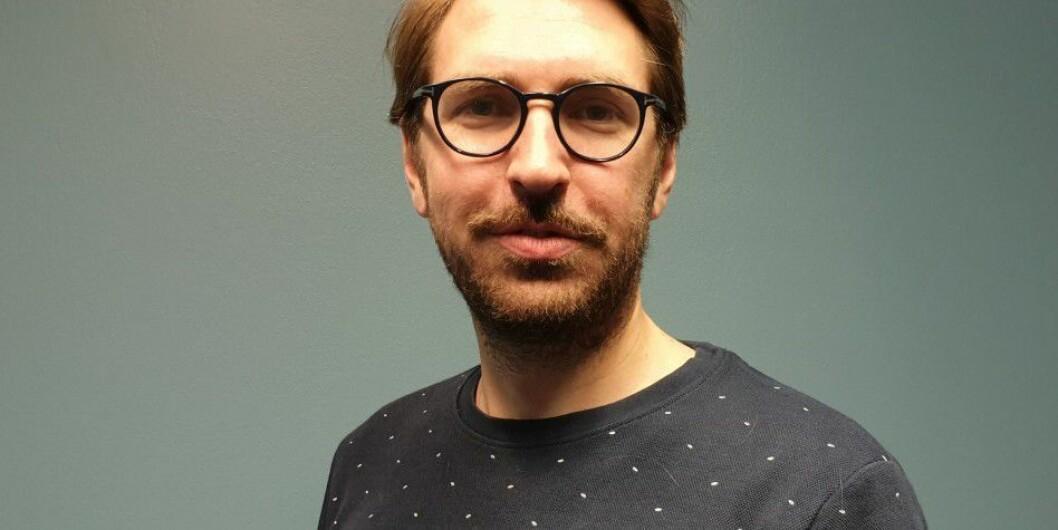 Journalist Mats Arnesen (31).