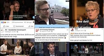 VGTV nektar politikarar å bruke innhaldet deira i «propaganda». NRK og TV 2 gir grønt lys