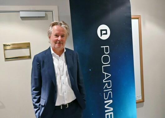 Styreleiar Torry Pedersen i Polaris Media.