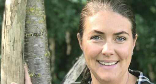 Tonja Ingrid Sødal Folkvard er ny redaktør i Hytteliv