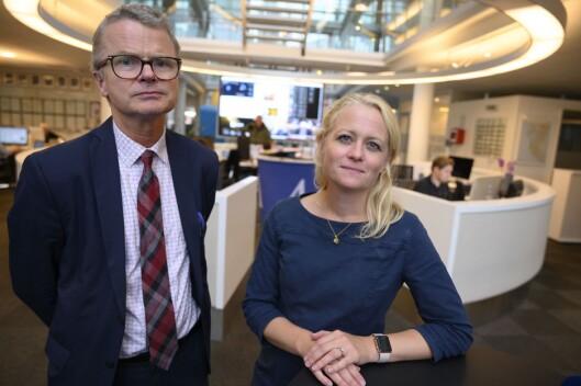 Lars Helle og Elin Stueland i Stavanger Aftenblad.