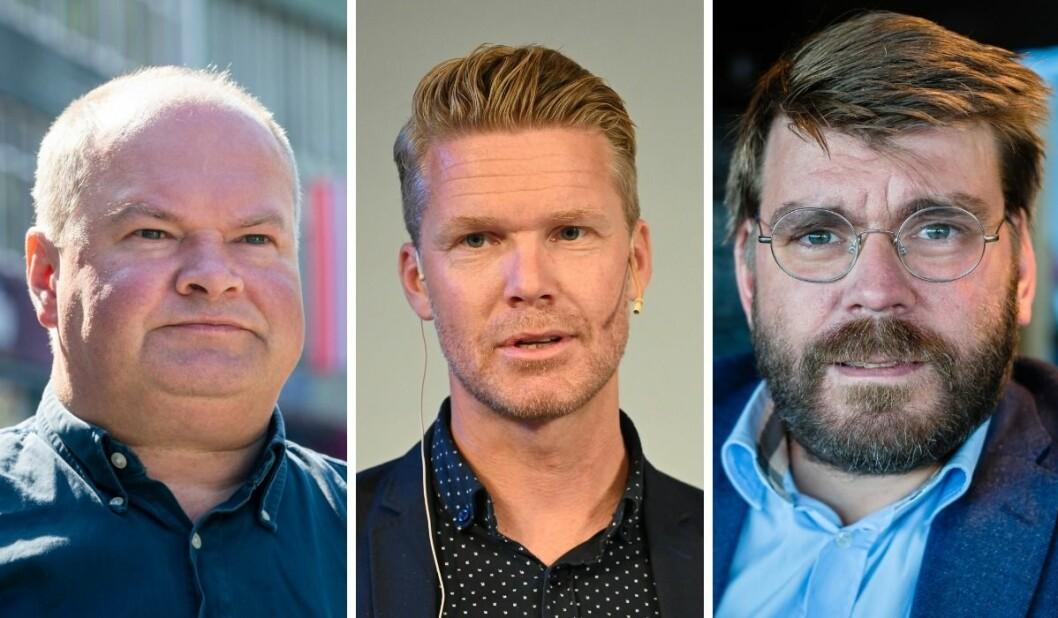 Trym Aafløy, Mats Rønning og Sigvald Sveinbjørnsson.