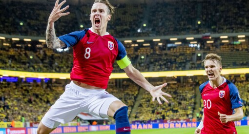 Årsbeste for TV 2: Over én million fulgte landskampen mot Sverige