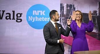 Vi ble med NRK bak kulissene under valget: Slik ser det ut i hjertet av nyhetsoperasjonen