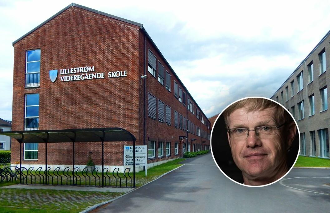 Gunnulv Hellesylt - innfelt på bilde av Lillestrøm VGS