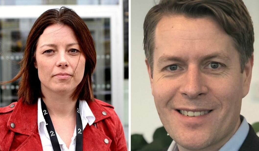 Sarah Willand i TV 2 og Olav Hypher i NRK forteller at begge allmennkringkasterne har behandlet varsler siden våren 2018.