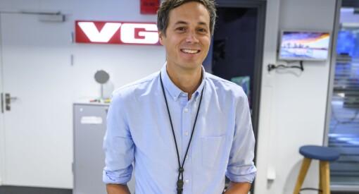 Øyvind Brenne er ny utviklingsredaktør i VG: – Den mest spennende jobben jeg kan tenke meg