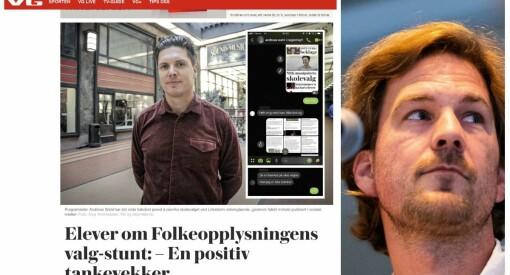 Slik var VGs dekning av valgmanipuleringen på Lillestrøm VGS
