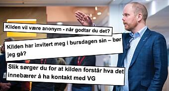 VG med husreglar etter skandalane: Gard Steiro tek sjølvkritikk for at journalistar var på pølsefest