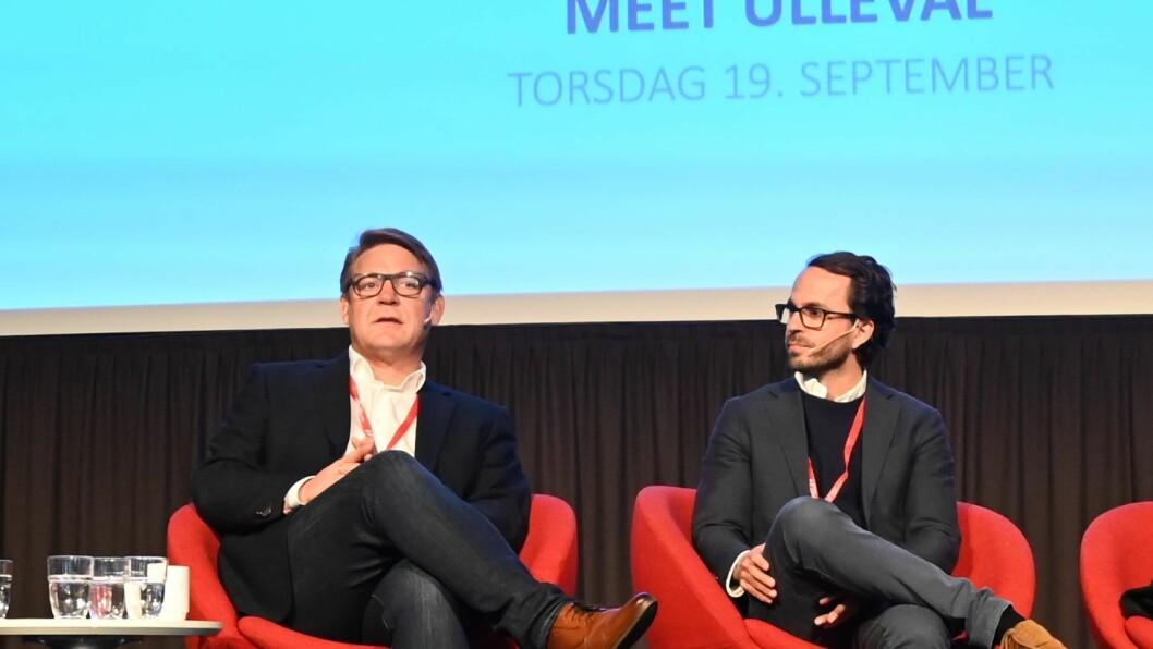Kenneth Andresen (t.v.) og Aslak S. Skretting (t.h.)