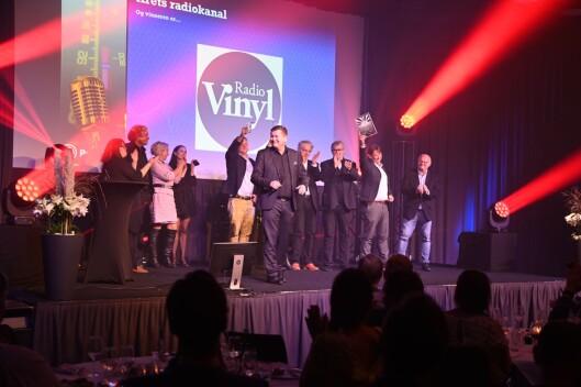 Radio Vinyl ble kåret til årets radiokanal under Prix Radio 2019.