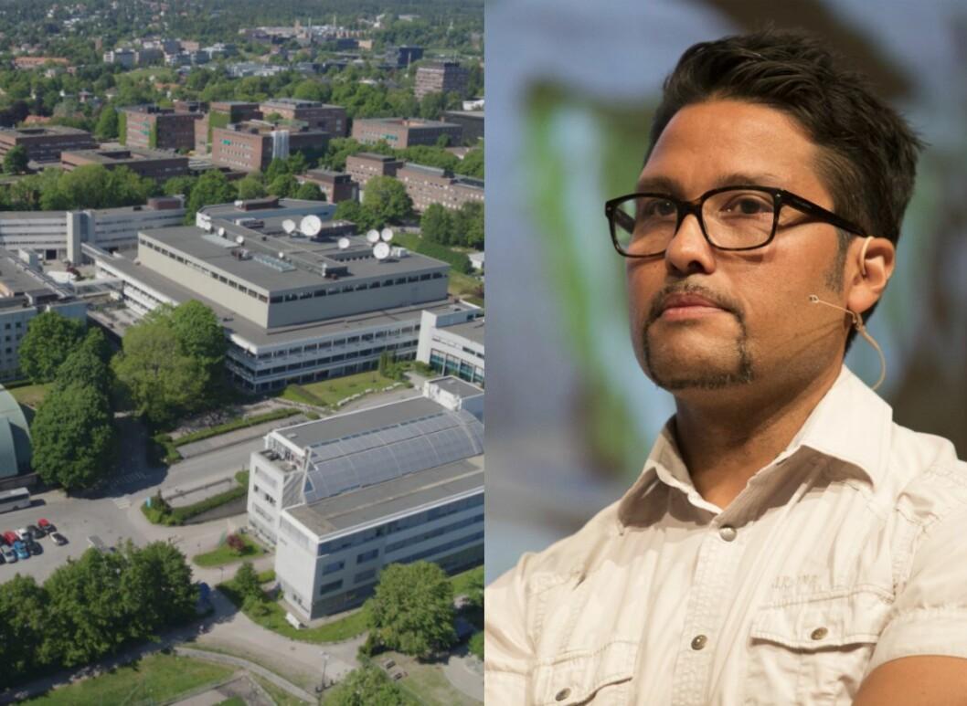 Marienlyst-tomta til NRK og Daniel K. Siraj, konsernsjef i OBOS.