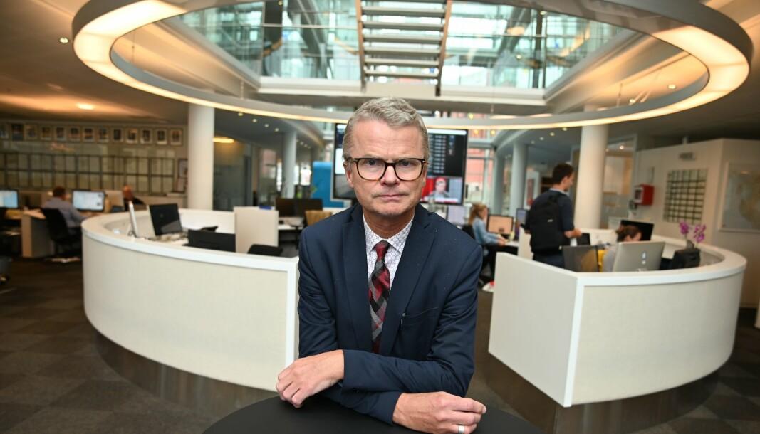 Sjefredaktør i Stavanger Aftenblad, Lars Helle.