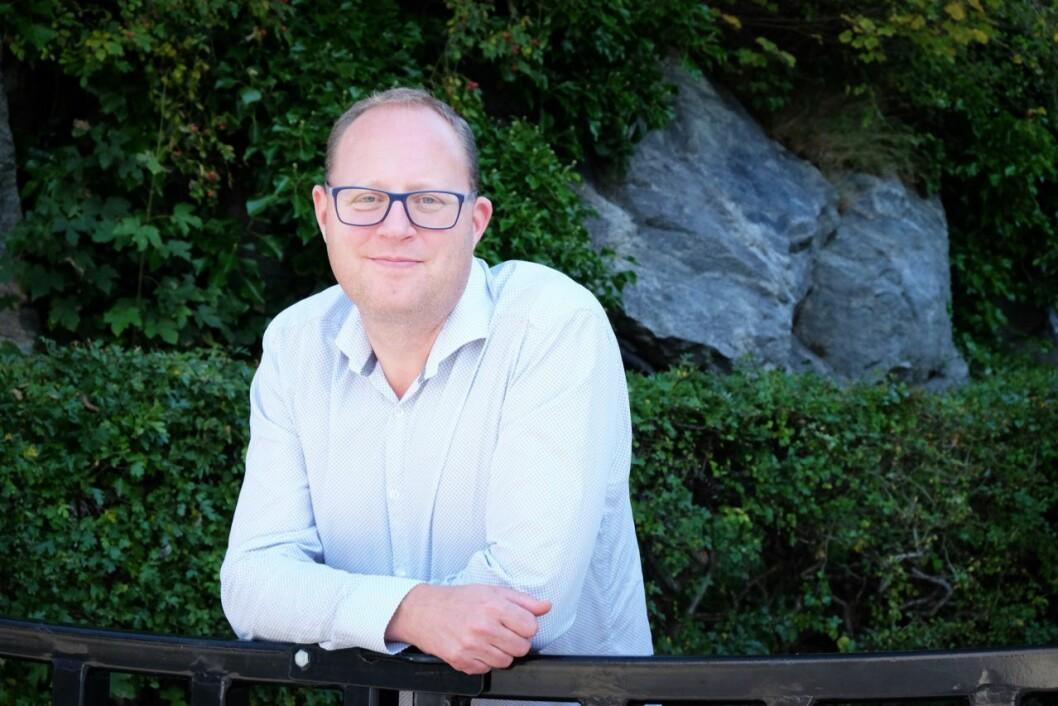 Påtroppende generalsekretær Tomas Bruvik i LLA.