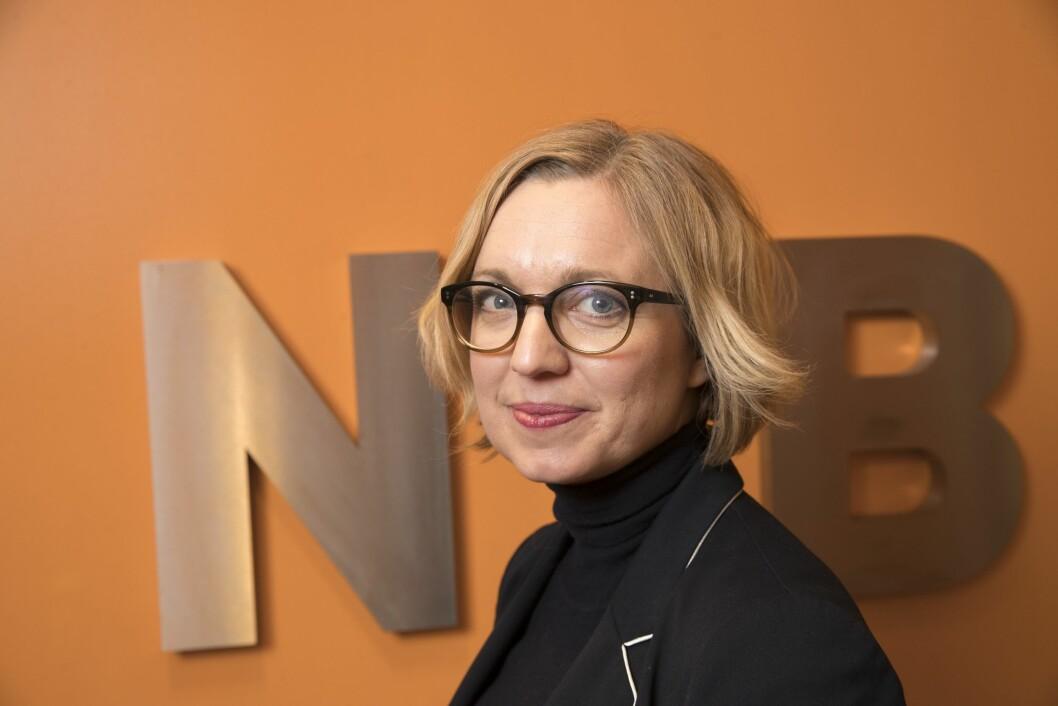 Nyhetsredaktør Sarah Sørheim i NTB