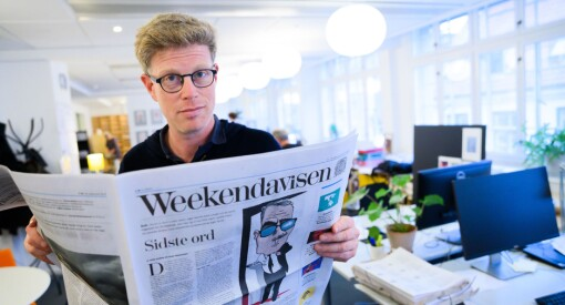 Superlønsame Weekendavisen åtvarar Morgenbladet mot drastisk digitalisering