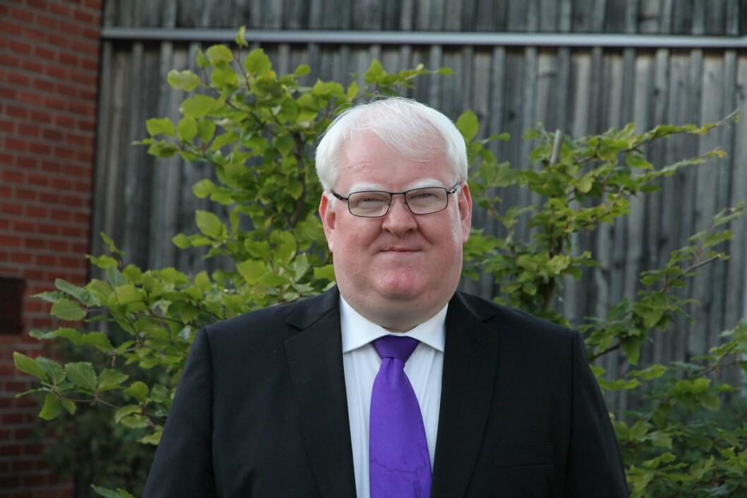 Olsen, styreleder i Norges Blindeforbund.