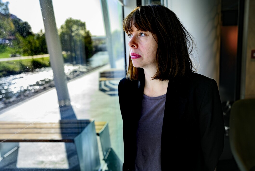 Sjefredaktør i Morgenbladet, Anna B. Jenssen.