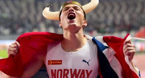 Nesten 1,5 millioner så Karsten Warholms gulløp i VM på NRK 1