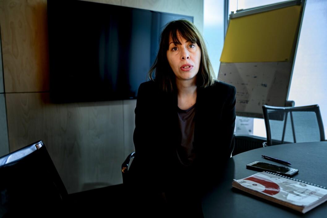 Sjefredaktør Anna B. Jenssen i Morgenbladet
